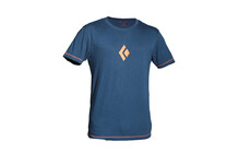 Black Diamond Logo Tee EU Men's moroccan blue
